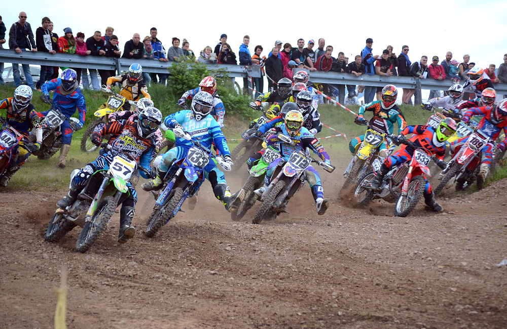 Motocross Seiffen Start